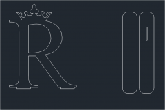 R Brief mit Stand Dwg Format