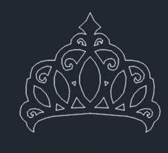 Crown dwg format