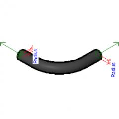 Raccordo per tubi Long Sweep in ghisa Revit