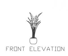 Plant Vase for Bedroom 1 Elevation dwg Drawing