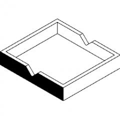 Project Tray Set on Surface Revit