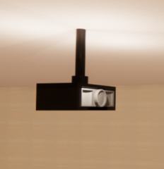 Projector Ceiling Mount revit family