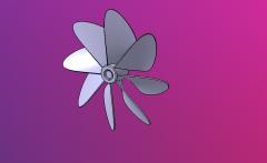 Ship propeller.CATPart