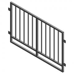 Protective railing-1 pcs revit family