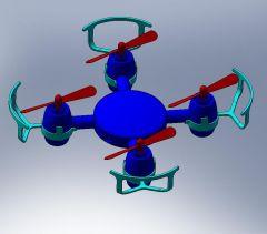 クワッドヘリコプターsldasmモデル
