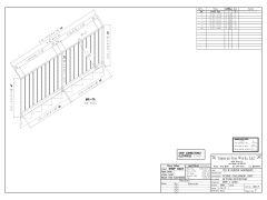 Treppengeländers Zeichnungen 2