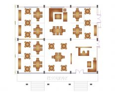 Restaurant Plan .dwg
