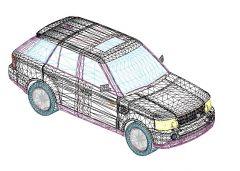 Revit Family 3d Car Range Rover
