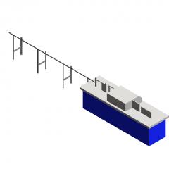 鉄筋矯正機Revitモデル