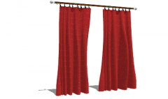 Red dots yellowcurtains(108) skp