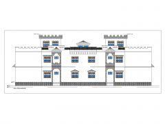 Residence Building 2D Elevation .dwg_69