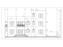 Residential Building Section Plans (Multistoried Building) International Standard .dwg-10