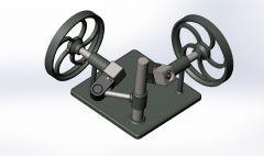 Right angle coupler sldasm Model