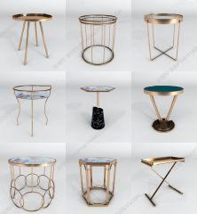 Одноместный стол для гостиной 3ds max