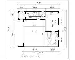 一戸建て住宅設計タイプ21階平面図_4.dwg