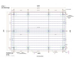 Steel Structural Shed Design with K Span .dwg_1