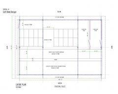 Steel Structural Shed Design with K Span .dwg_2