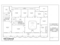 School Building Design Type-2 First Floor Plan .dwg_2