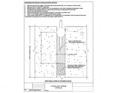 Sectional View of Concrete Slab .dwg