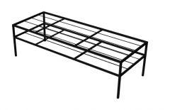 small steel shelved shoe rack 3d model .3dm format