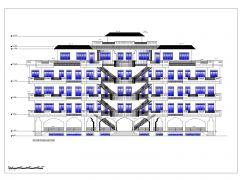 Shopping Mall Design KSA Project Elevation .dwg-1