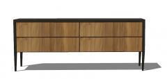 Simple cabinet skp