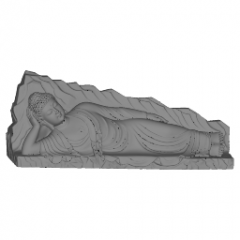 Dormir Shakyamuni Amitabha Buddha skp