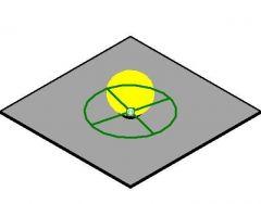 Small Square Light Revitファミリ