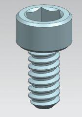 ソケットヘッドネジM1,4x 0.3mmネジ長さ3mm
