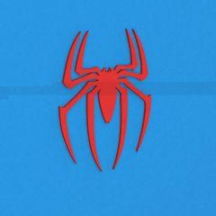 Spiderman logo sldprt model