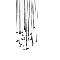 simple Hanging studio light 3d model .3dm format