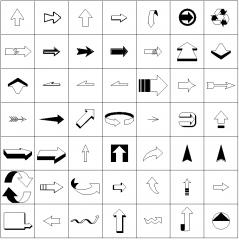 Symbole - Pfeile (Paid 1)