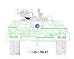 Tank military view - 003