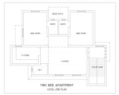 Two Bed Apartment Design_1 .dwg