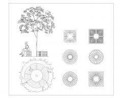 Trees Symbols .dwg