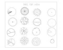 Bäume Symbole_2 .dwg