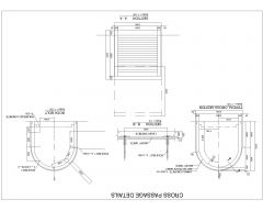 TUNNELS-CROSS PASSAGE DETAILS-モデル