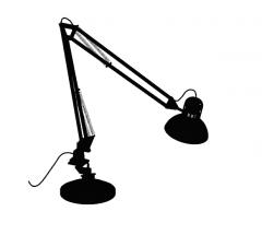 Table dark 360 angle lamp skp