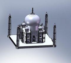 Taj Mahal sldasm模型