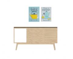 Tea wooden cabinet skp