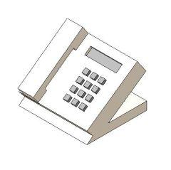 Revit Family 3d Téléphone