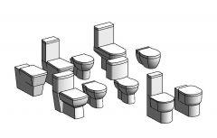 Revit Toilet designs
