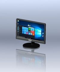 Touchscreen-Monitor Modelin solidworks