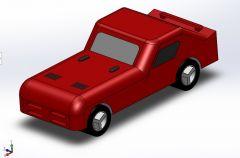 Toy Car solidworks