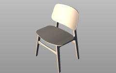 Модель ступени традиционного стула