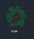 景観用の木039dwg図面