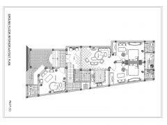 Turkish Style House Interior Layout Plan .dwg_1