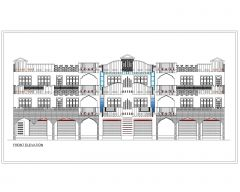 USA_2D Multistory Elevations Commercial Building .dwg-79