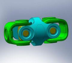 Universal joint sldasm Model