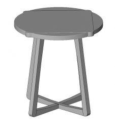 Slide Occasional Tables Revit Family